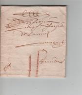 PR7572/ Précurseur LAC Gand 1666 Port 2 - 1621-1713 (Países Bajos Españoles)