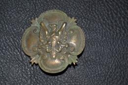 Médaille Insigne Corps Expéditionnaire En Pologne 1921 - Other Countries