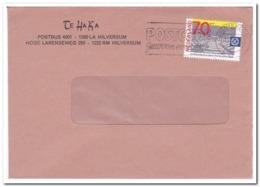 Nederland 1984, Enveloppe Van Te Ha Ka Hilversum - Period 1980-... (Beatrix)
