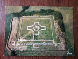 L22/841 Sanxay - Ruines Gallo-romaines - Le Temple - Vue Aérienne - France