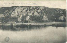 56. Yvoir - Villas Et Les Rochers De Champale Sur Meuse - Yvoir