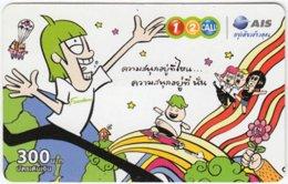 THAILAND A-826 Prepaid 1-2-call/AIS - Cartoon - Used - Thailand
