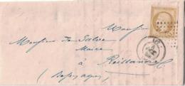 VAUCLUSE - APT - EMPIRE - N°13A - OBLITERATION PC DU 4 OCTOBRE 1859. - Marcophilie (Lettres)