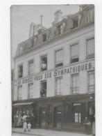 75  PARIS    AU RENDEZ VOUS DES SYMPATHIQUES  VINS ET LIQUEURS MAISON A.  ROCAGEL  70 QUAI DE LA LOIRE  ANIMÉE BON ETAT - Pubs, Hotels, Restaurants