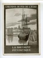 Roscoff Chemins De Fer De L'état. Bretagne Pittoresque - Werbung