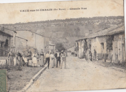 VAUX-sur-ST-URBAIN (Hte Marne): Grande Rue - France