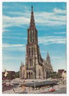 Germany - Ulm - Ulmer Münster Mit Dem Höchsten Kirchturm Der Welt - 1965 - Kirchen U. Kathedralen