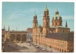 München - Feldherrnhalle Und Theatinerkirche - Muenchen