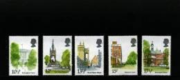 GREAT BRITAIN - 1980  LONDON LANDMARKS  SET  MINT NH - Nuovi