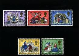 GREAT BRITAIN - 1979  CHRISTMAS   SET MINT NH - Nuovi