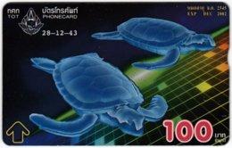 THAILAND F-148 Hologram TOT - Painting, Animal, Sea Life, Turtle - 121H - Used - Thaïland