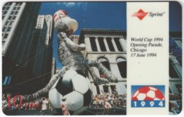 USA C-639 Prepaid Sprint - Event, Sport, Soccer, World Cup - Used - Sprint