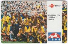 USA C-644 Prepaid Sprint - Event, Sport, Soccer, World Cup - Used - Sprint