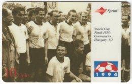 USA C-651 Prepaid Sprint - Event, Sport, Soccer, World Cup - Used - Sprint