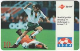 USA C-661 Prepaid Sprint - Event, Sport, Soccer, World Cup - Used - Sprint