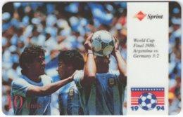 USA C-665 Prepaid Sprint - Event, Sport, Soccer, World Cup - Used - Sprint