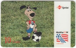 USA C-674 Prepaid Sprint - Event, Sport, Soccer, World Cup - Used - Sprint