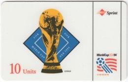 USA C-675 Prepaid Sprint - Event, Sport, Soccer, World Cup - Used - Sprint