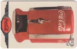 USA C-703 Prepaid Sprint - Advertising, Drink, Coca Cola - Used - Sprint