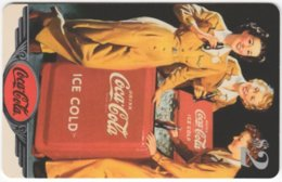 USA C-706 Prepaid Sprint - Historic Advertising, Drink, Coca Cola - Used - Vereinigte Staaten