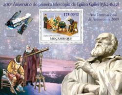Mozambique 2009 MNH - 400th Anniversary Of The Telescope Of Galileo. Sc 1916, YT 226, Mi 3377/BL275 - Mozambico