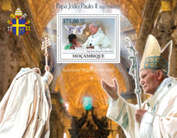 Mozambique 2009 MNH - Pope Hohn Paul II (1920-2005). Sc 1904, YT 210, Mi 3307/BL265 - Mozambique