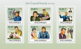 Mozambique 2009 MNH - John Fitzgerald Kennedy (1917-1963). Sc 1882, YT 2686-2691, Mi 3329-3334 - Mozambico