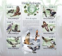 Mozambique 2010 MNH - Raptors. Sc 1949, YT 2920-2925, Mi 3501-3506 - Mozambique