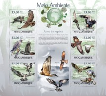 Mozambique 2010 MNH - Raptors. Sc 1949, YT 2920-2925, Mi 3501-3506 - Mosambik