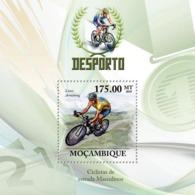 Mozambique 2010 MNH - Road Bicycles Racing. Sc 2028, YT 270, Mi 3738/BL326 - Mozambique