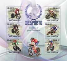 Mozambique 2010 MNH - Track Cycling Racers (L.Villumsen, N.Cooke). Sc 1991, YT 3076-3081, Mi 3719-3724 - Mozambique