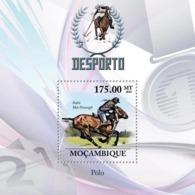 Mozambique 2010 MNH - Polo. Sc 2031, YT 273, Mi 3799/BL336 - Mozambique