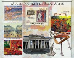 Mozambique 2010 MNH - Pushkin Museum Of Fine Arts (Paintings, Statues). Sc 2098, YT 307, Mi 4039/BL369 - Mozambique