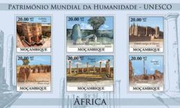 Mozambique 2010 MNH - World Heritage Site UNESCO Africa I. Sc 2050, YT 3194-3199, Mi 3866-3871 - Mozambique