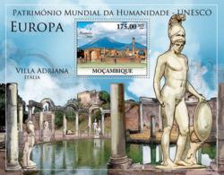 Mozambique 2010 MNH - World Heritage Site UNESCO Europe I. Sc 2072, YT 287, Mi 3949/BL357 - Mozambique