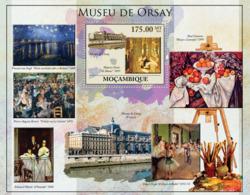 Mozambique 2010 MNH - Orsay Museum (Paintings). Sc 2091, YT 301, Mi 4034/BL364 - Mozambique