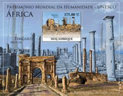 Mozambique 2010 MNH - World Heritage Site. Sc 2063, YT 292, Mi 3947/BL355 - Mozambique