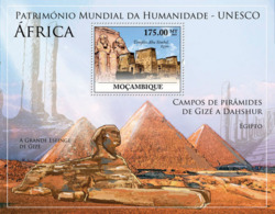 Mozambique 2010 MNH - World Heritage Site - UNESCO Africa III. Sc 2062, YT 292, Mi 3944/BL352 - Mozambique