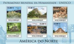 Mozambique 2010 MNH - World Heritage Site - UNESCO North America I. Sc 2056, YT 3230-3235, Mi 3890-3895 - Mozambique