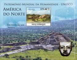 Mozambique 2010 MNH - World Heritage Site - UNESCO North America I. Sc 2065, YT 296, Mi 3942/BL350 - Mosambik