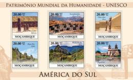 Mozambique 2010 MNH - World Heritage Site - UNESCO South America II. Sc 2051, YT 3242-3247, Mi 3872-3877 - Mosambik
