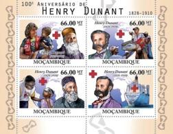 Mozambique 2010 MNH - 100th Of Henri Dunant (Red Cross). Sc 2101, YT 3426-3429, Mi 4205-4208 - Mozambique