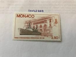 Monaco Hydrography Bureau 1981 Mnh - Monaco