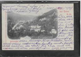 AK 0349  Baden Bei Wien - Helenenthal / Verlag Ledermann Um 1898 - Baden Bei Wien