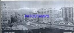 123008 CHILE SANTIAGO SQUARE PLAZA BULNES PHOTO NO POSTAL POSTCARD - Chile