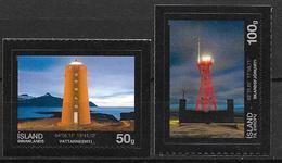 Islande 2013, N°1327/1328 Neufs Phares - Unused Stamps