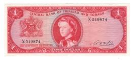 Trinidad & Tobago 1 Dollar (1964). P-26b. XF. - Trinidad & Tobago