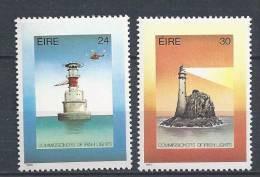 Irlande 1986 N°604/605 Neufs ** Phares - 1949-... République D'Irlande