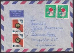 Deustche Bundespost - 1967 - Brief - Argentinien - [7] République Fédérale