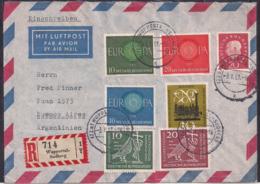 Deustche Bundespost - 1961 - Brief - Argentinien - [7] République Fédérale